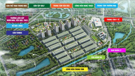 Tiện ích - át chủ bài gia tăng giá trị Him Lam Green Park